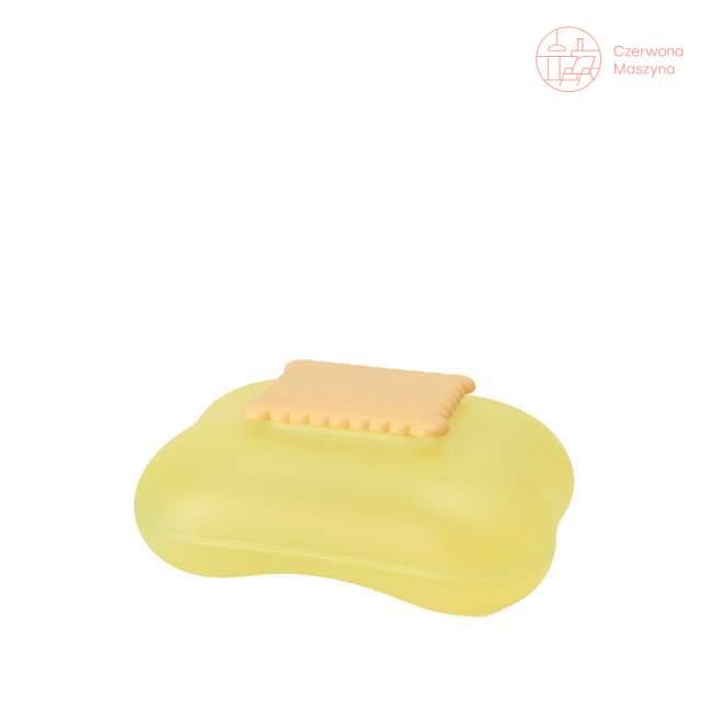 Pudełko na ciastka A di Alessi Mary Biscuit, żółte