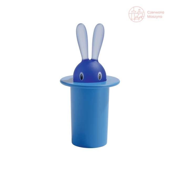 Pojemnik na wykałaczki A di Alessi Magic Bunny niebieski