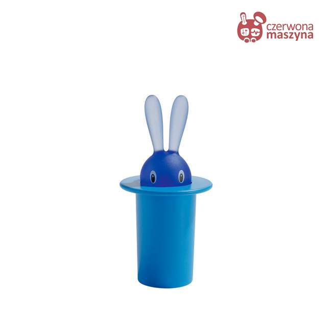 Magnes A di Alessi Magic Bunny niebieski