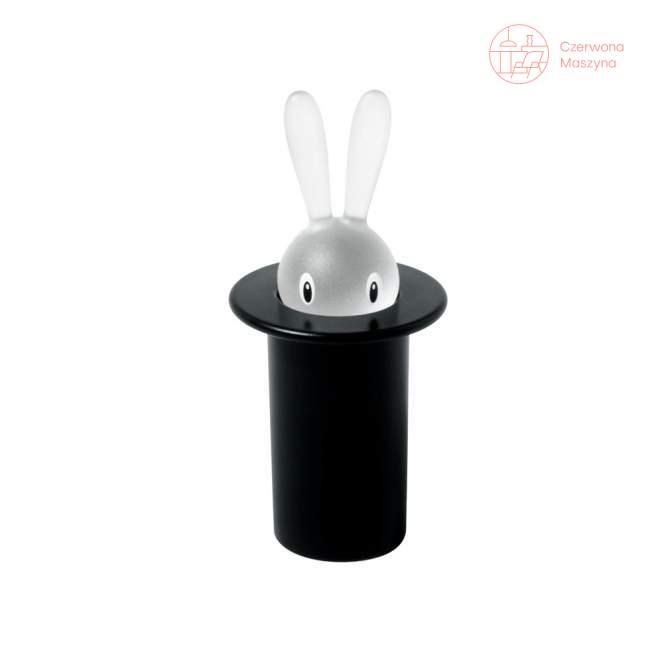Pojemnik na wykałaczki A di Alessi Magic Bunny czarny
