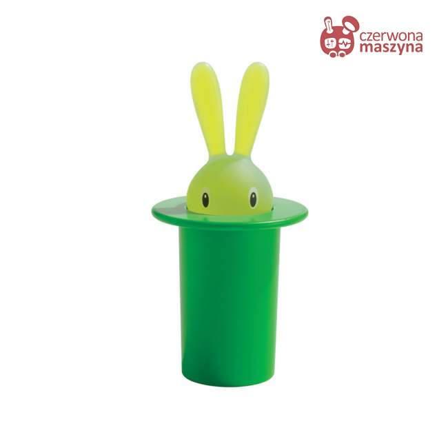 Pojemnik na wykałaczki A di Alessi Magic Bunny zielony