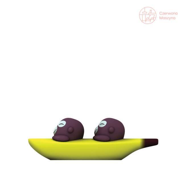 Solniczka i pieprzniczka A di Alessi Banana Bros