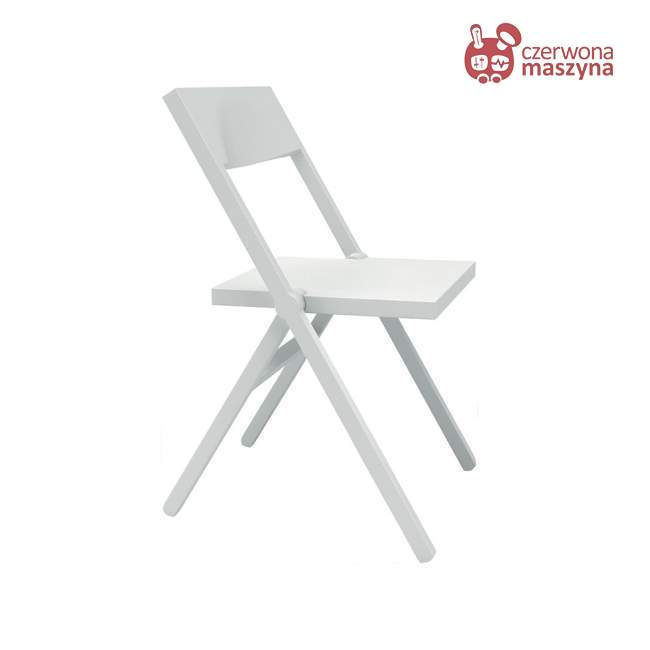 Krzesło składane Alessi Piana, białe