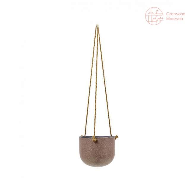 Osłonka na doniczkę wisząca Serax Vintage 17 cm, fioletowa