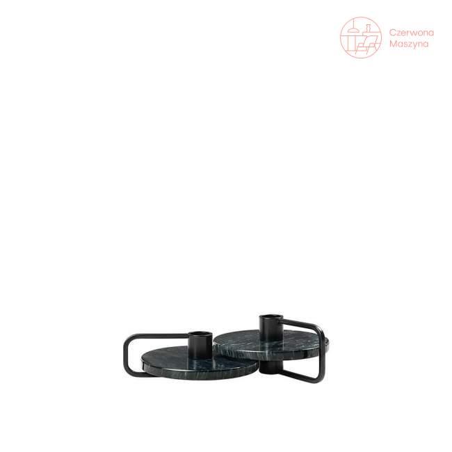 2 świeczniki Blomus Castea czarne