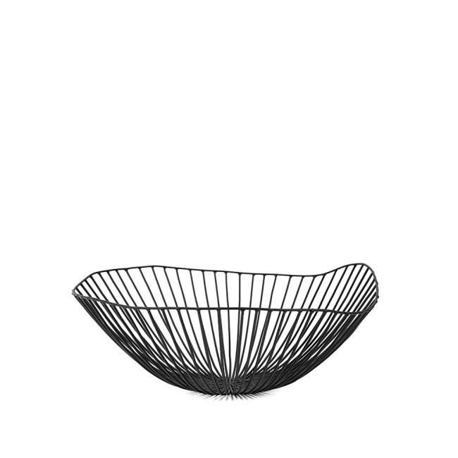 Misa na owoce Serax Cesira Ø 39 cm, czarna