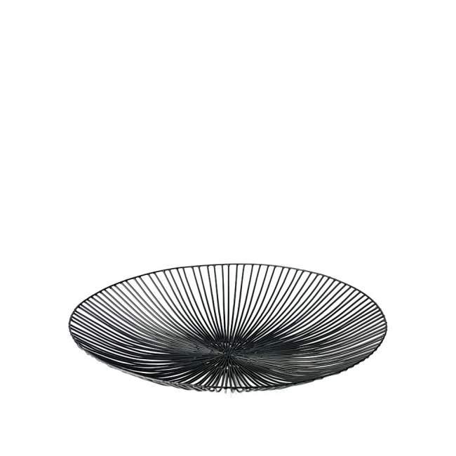 Misa na owoce Serax Edo Ø 50 cm, czarna