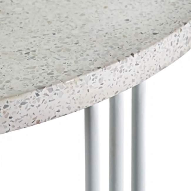 Stolik Serax Terrazzo Ø 30 cm, biały
