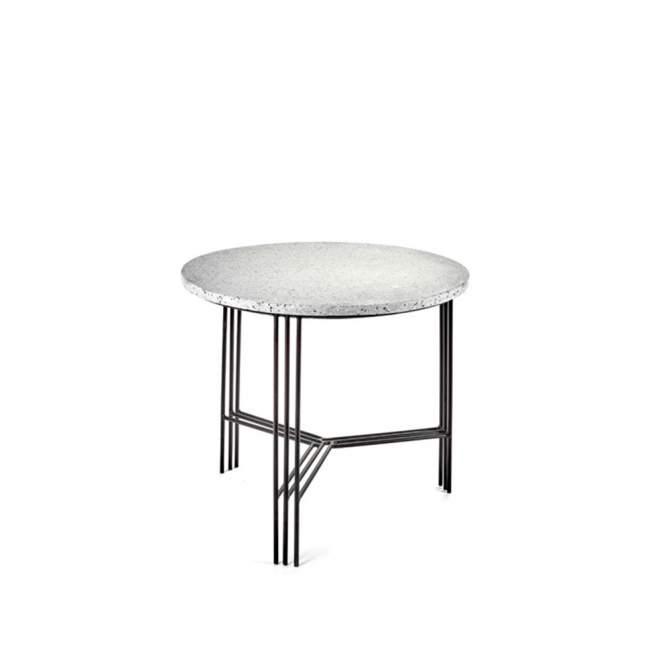 Stolik Serax Terrazzo Ø 50 cm, czarny