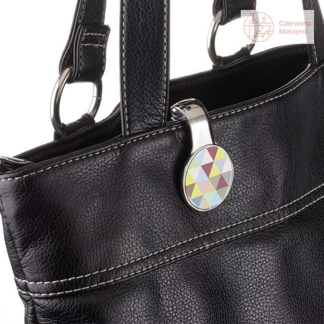Uchwyt na torebkę i klucze Troika Triangle Art