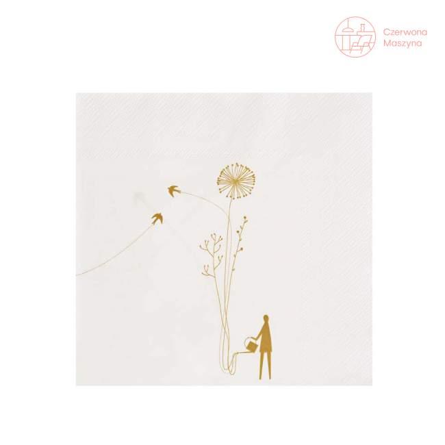 Serwetki Raeder Kwiaty h 33 cm