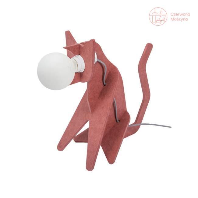 Lampa Eno Studio Get Out Cat czerwona