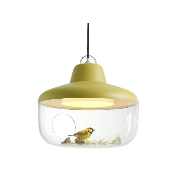 Lampa wisząca Eno Studio Favourite Things Ø 45 cm, żółta