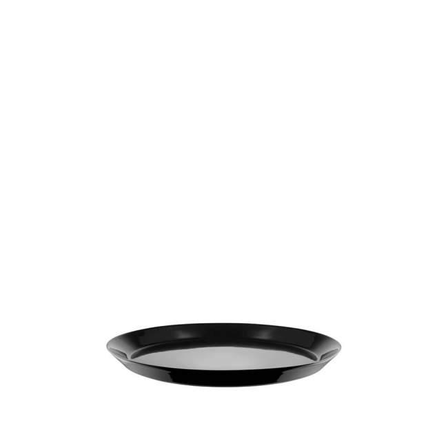 Talerz deserowy Alessi Tonale Ø 20 cm, czarny