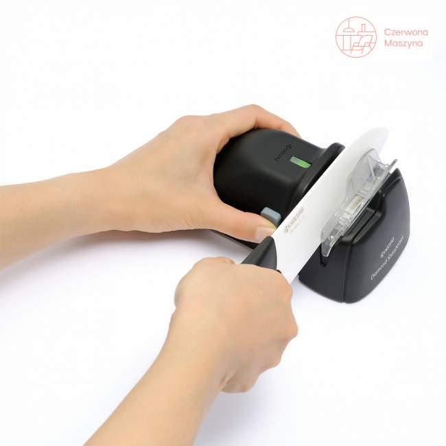 Kompaktowa ostrzałka elektryczna do noży ceramicznych Kyocera