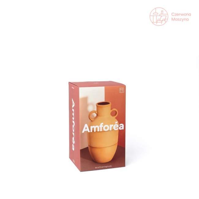 Zestaw 3 misek na przekąski Doiy Amforea