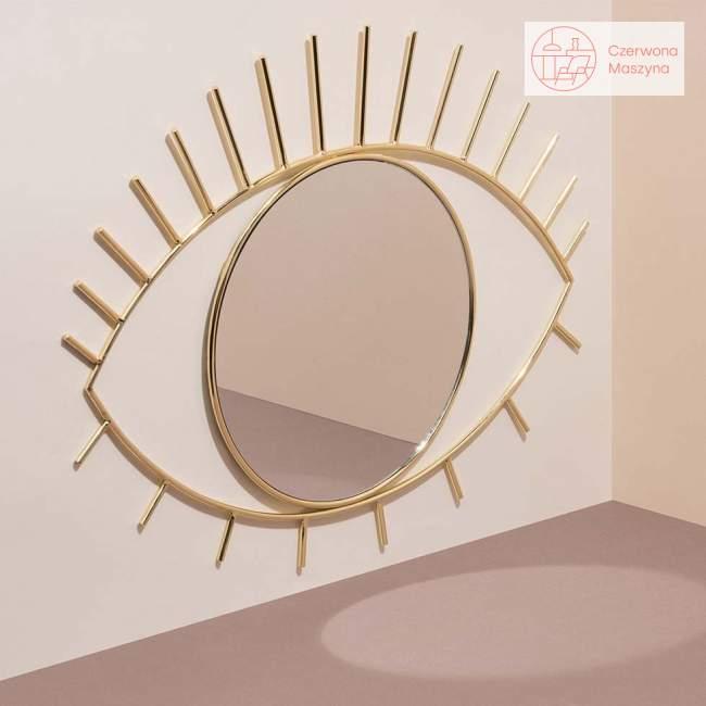 Lustro wiszące Doiy Cyclops złote