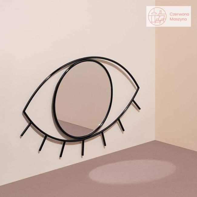 Lustro wiszące Doiy Cyclops czarne