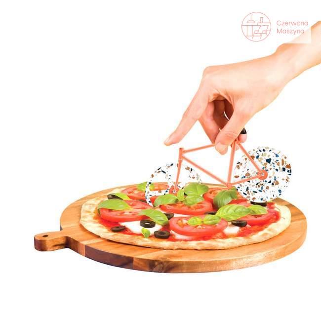Nóż do pizzy rower Doiy Fixie Terrazzo