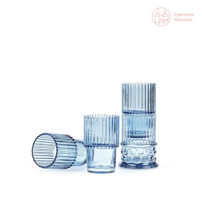 4 szklanki Doiy Hestia niebieskie