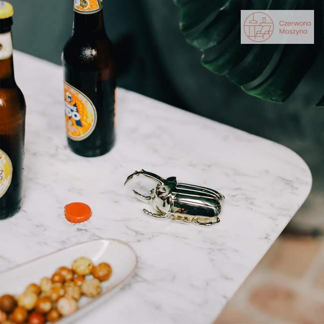 Otwieracz do butelek Doiy Insectum złoty