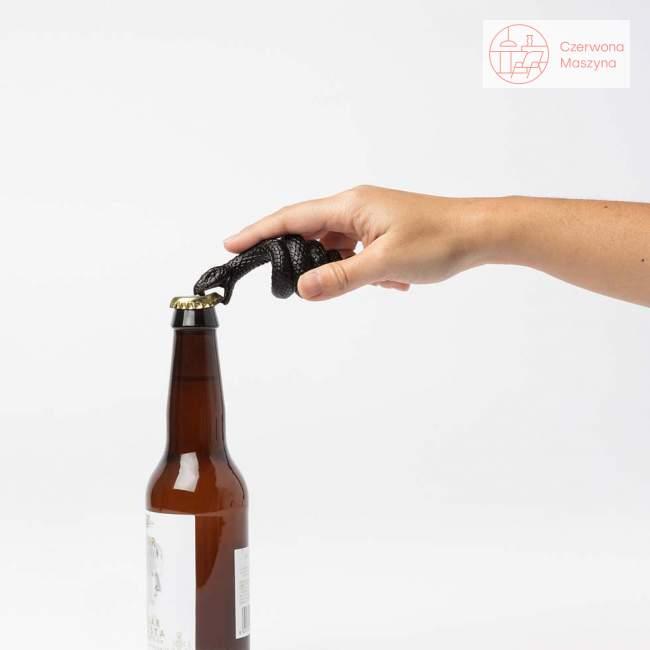 Otwieracz do butelek Doiy Mamba czarny