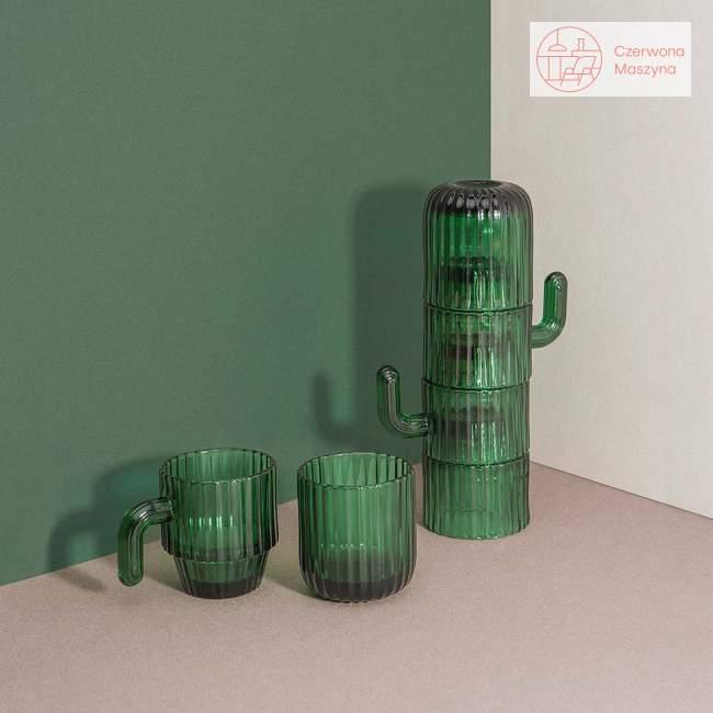 4 szklanki do kawy Doiy Saguaro