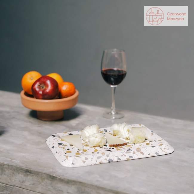 Taca do serwowania serów Doiy Terrazzo 38 cm