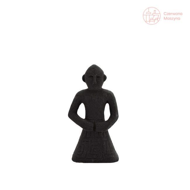 Dekoracja z kamionki Madam Stoltz, 14,5 cm, czarna