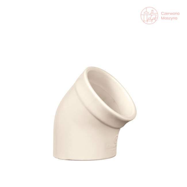 Ceramiczny pojemnik na sól Emile Henry, kremowy