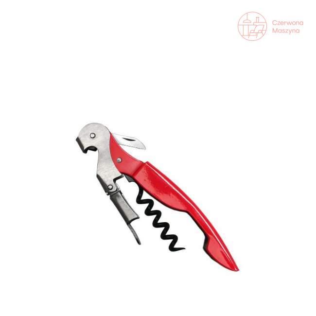 Korkociąg dwustopniowy Vin Bouquet Professional czerwony