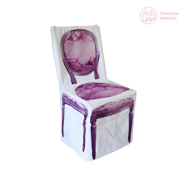 Pokrowiec na krzesło DayCollection 4meK, fioletowy