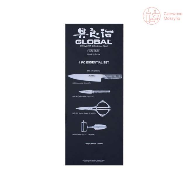 4-elementowy zestaw noży Global