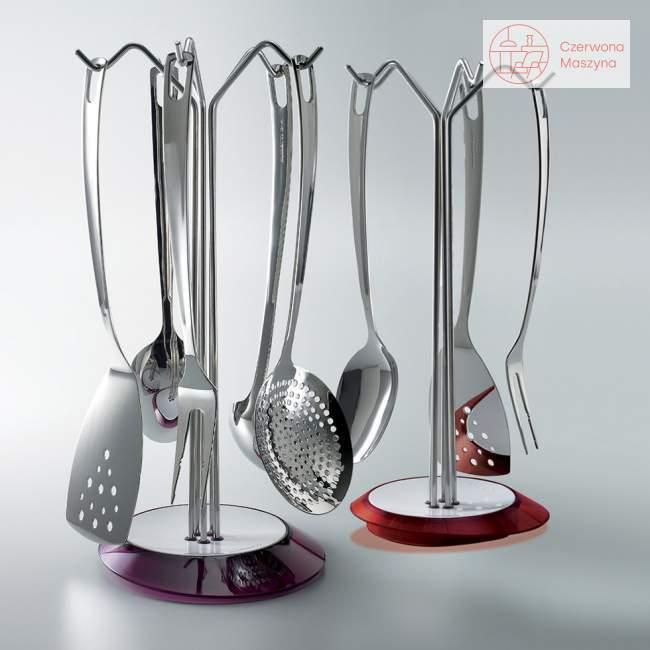 Zestaw narzędzi kuchennych Bugatti Glamour, czerwony
