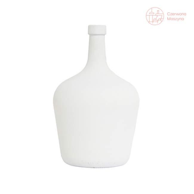 Wazon w kształcie karafki HK Living 2 l, biały