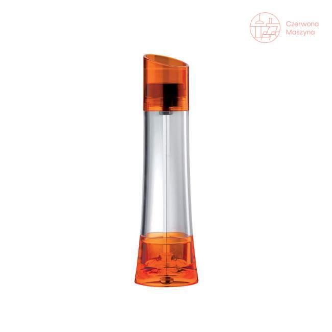 Młynek do soli i pieprzu Bugatti Glamour 18 cm, pomarańczowy
