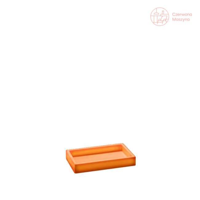 Pojemnik uniwersalny Geelli Ivasi, pomarańczowy przezroczysty