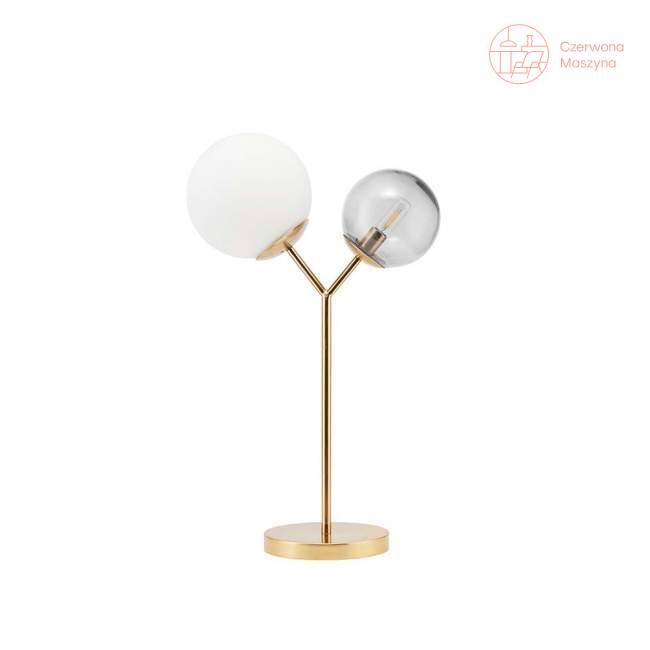 Lampa stołowa House Doctor Twice, Brass