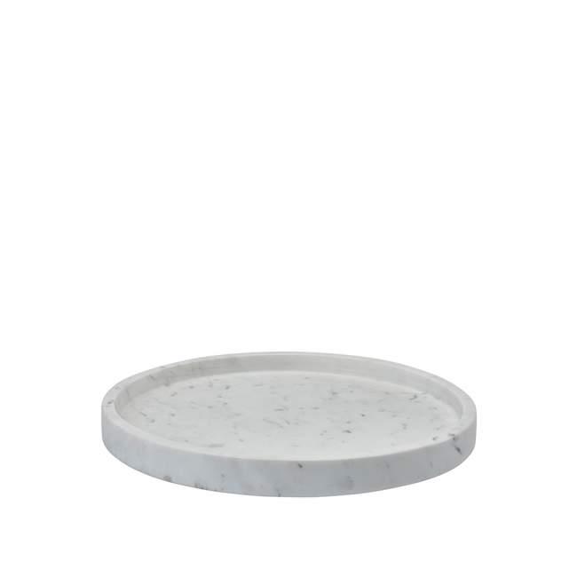 Taca/organizer Aquanova Hammam, Ø 30 cm, white