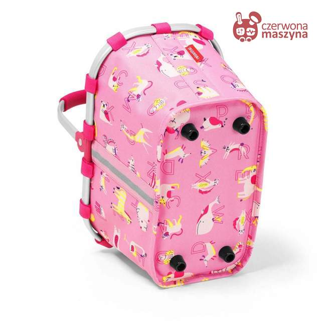 Koszyk dziecięcy na zakupy Reisenthel Carrybag XS kids abc friends pink