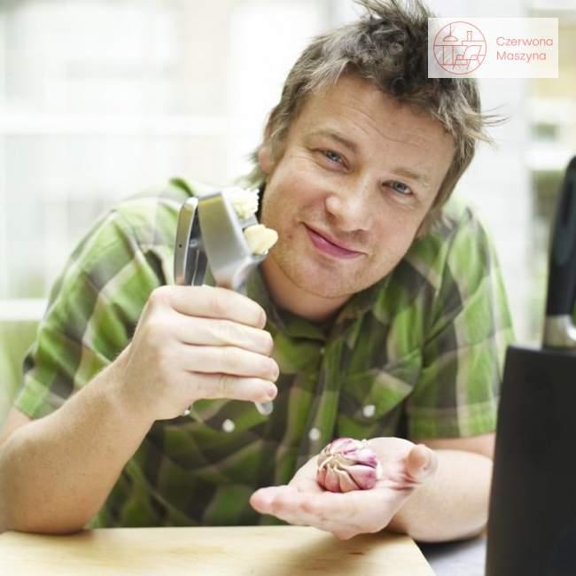 Wyciskacz do czosnku z plastrownikiem Jamie Oliver