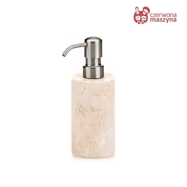 Dozownik do mydła w płynie Kela Marble, 0,35 l, beżowy
