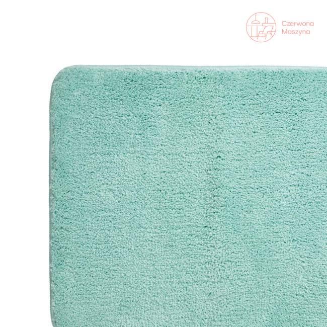 Dywanik łazienkowy Kela Livana, 65 x 55 cm, miętowy
