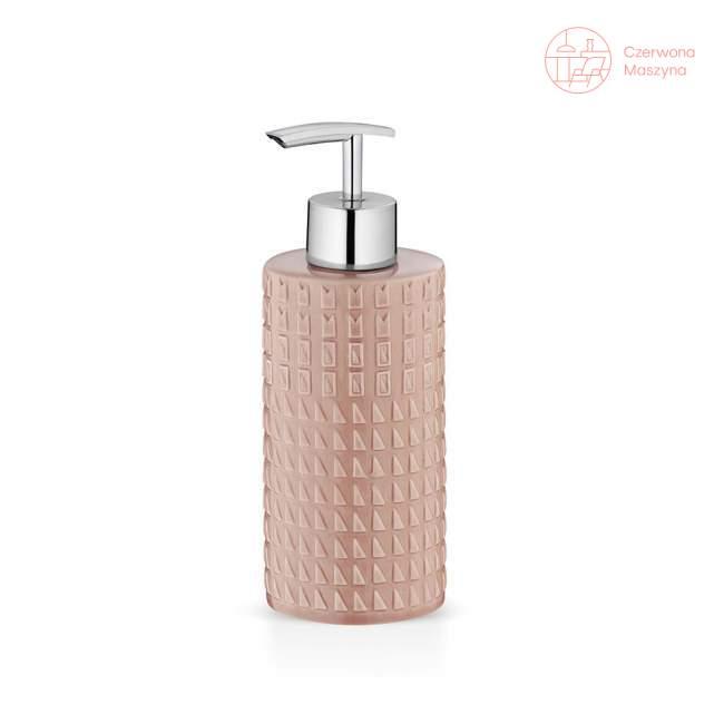 Dozownik do mydła Kela Lenora, różowy
