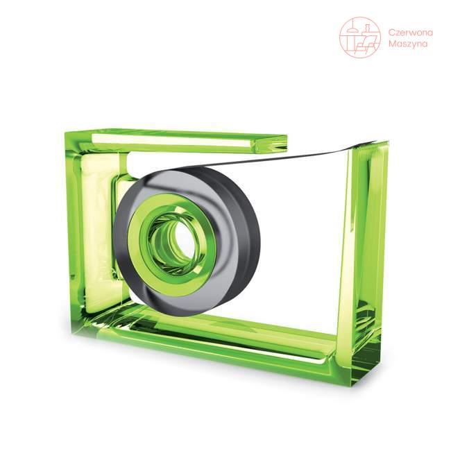 Podajnik taśmy Lexon Liquid Roll-Air, zielony przezroczysty