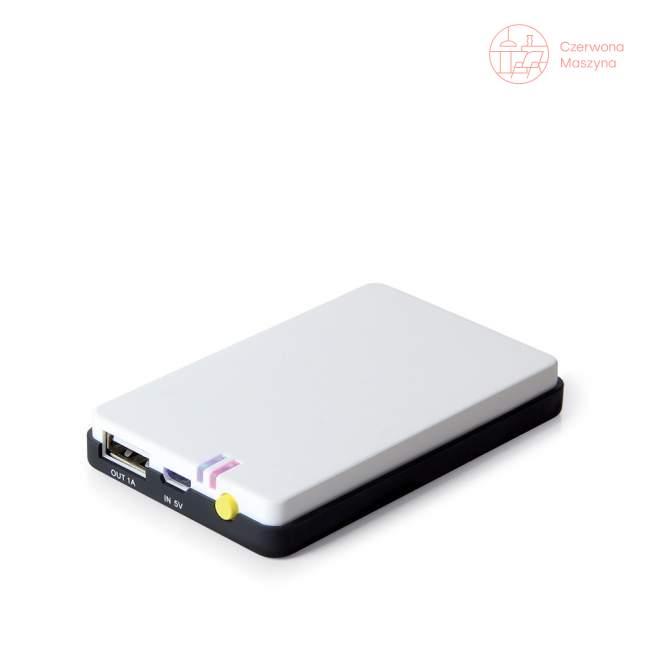 Ładowarka na USB Lexon Hobo, biało-czarna