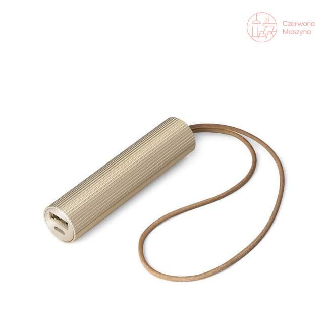Powerbank Lexon Fine cylinder złoty