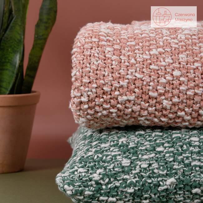 Pled Eno Studio Roccamare Mix 170 x 130 cm, koralowy