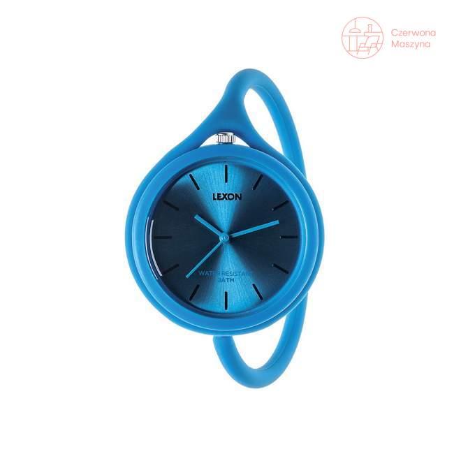 Zegarek na rękę Lexon Take Time niebieski