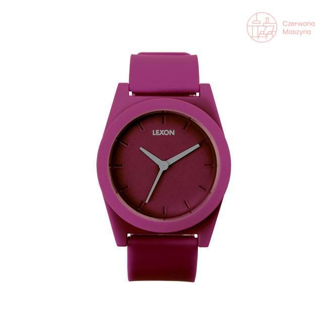 Zegarek na rękę Lexon Spring XL fioletowy
